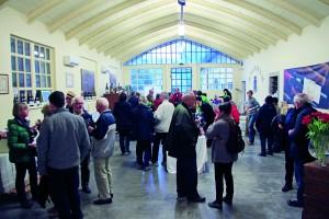 Weinverkostung auf dem Anwesen Angoris