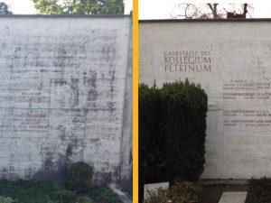 Sanierung Petriner Grab